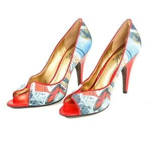 Carlos Santana Pounce Stiletto Pumps High Heels